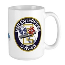 CVN-65 USS Enterprise Large Mug