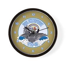CVN-65 USS Enterprise Wall Clock