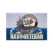CVN-65 USS Enterprise Rectangle Magnet