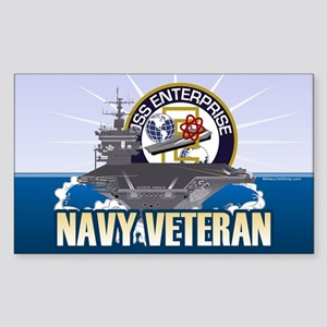 CVN-65 USS Enterprise Sticker (Rectangle)