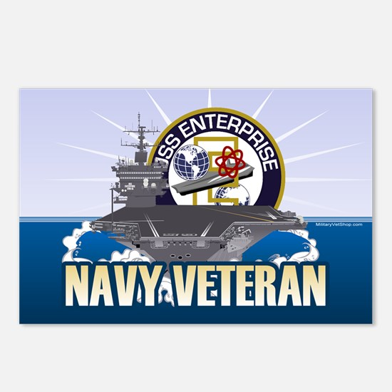 CVN-65 USS Enterprise Postcards (Package of 8)