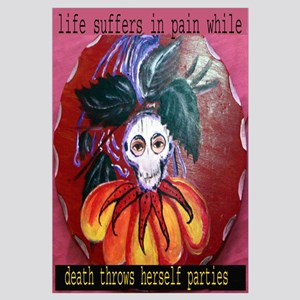 Life suffers in pain - full size