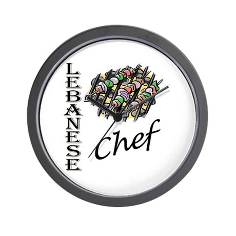LB Chef Wall Clock