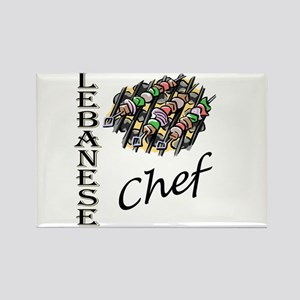 LB Chef Rectangle Magnet