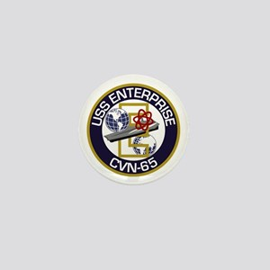 CVN-65 USS Enterprise Mini Button