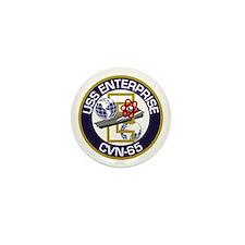 CVN-65 USS Enterprise Mini Button