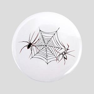 """spider web 3.5"""" Button"""