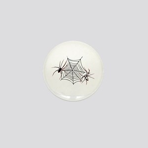 spider web Mini Button