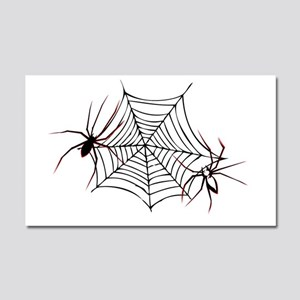 spider web Car Magnet 20 x 12