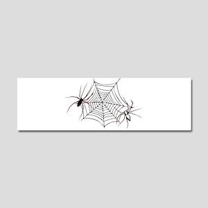 spider web Car Magnet 10 x 3