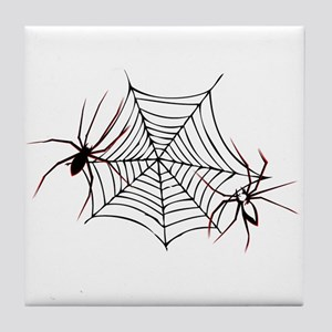 spider web Tile Coaster