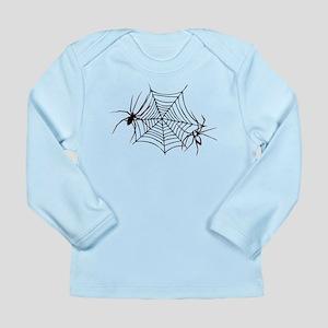 spider web Long Sleeve Infant T-Shirt