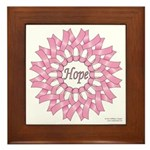 Circle of Hope Framed Tile