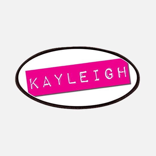 Kayleigh Punchtape Patches