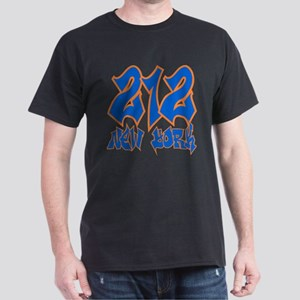 "New York ""Mets Colors"" Black T-Shirt"