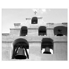 California Mission Bells Poster
