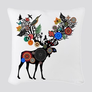 THE NATURE OF Woven Throw Pillow