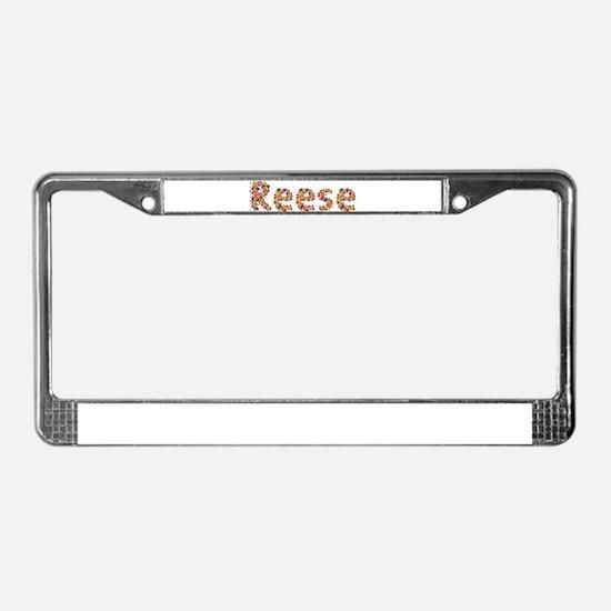 Reese Fiesta License Plate Frame