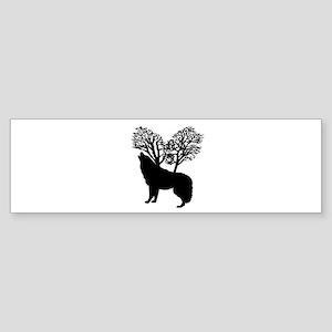 A LITTLE HOWL Bumper Sticker
