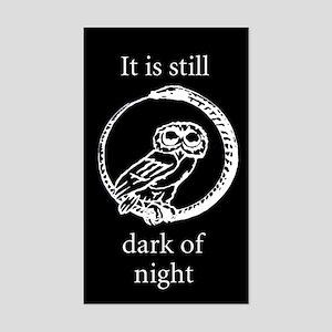 Owls Rectangle Sticker