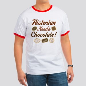 Historian Gift Funny Ringer T