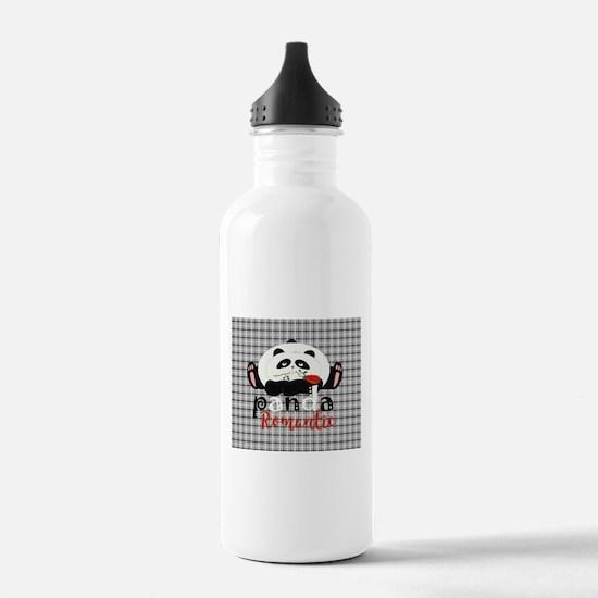 Cartoon Panda Funny Ro Water Bottle