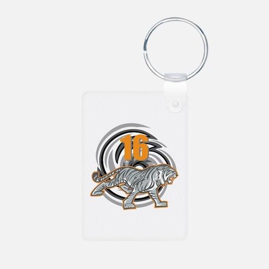 16th Birthday Tiger Keychains