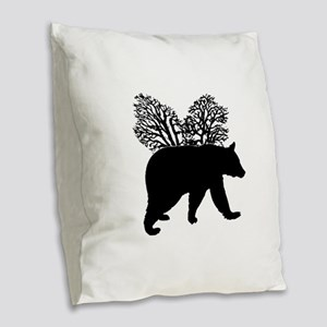THE NEW SHADOW Burlap Throw Pillow