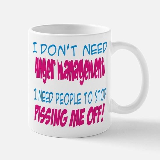 Pissing Me Off Mug