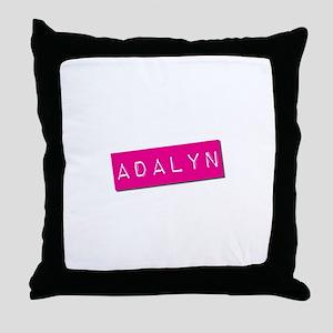 Adalyn Punchtape Throw Pillow