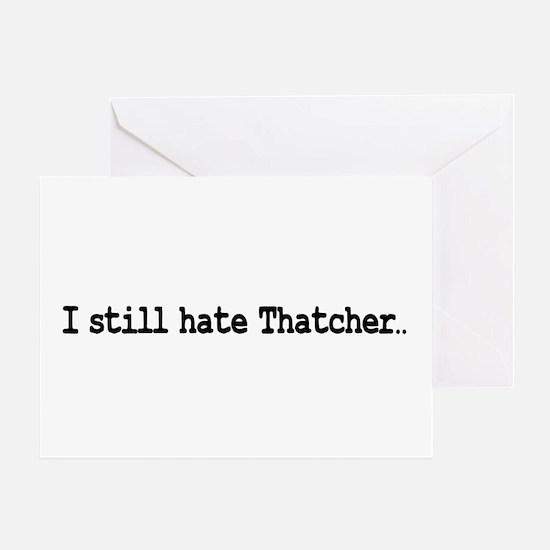thatcher2black Greeting Cards