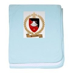 BABINEAUX Family Crest baby blanket