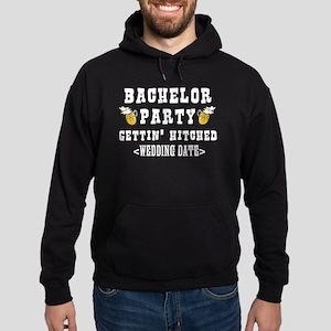 Bachelor Party (Wedding Date) Hoodie (dark)