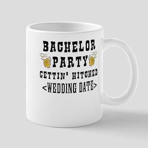 Bachelor Party (Wedding Date) Mug