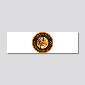 Trick or Treat Car Magnet 10 x 3