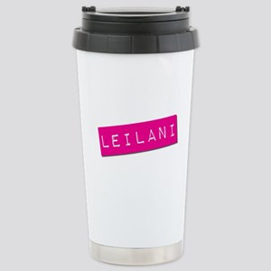 Leilani Punchtape Stainless Steel Travel Mug