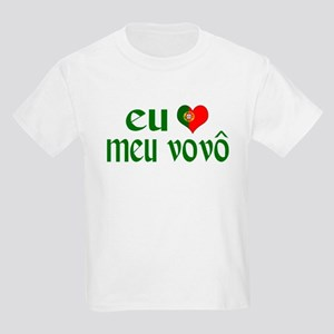 I love my Grandpa (Portuguese) Kids Light T-Shirt