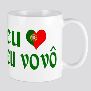 I love my Grandpa (Portuguese) Mug