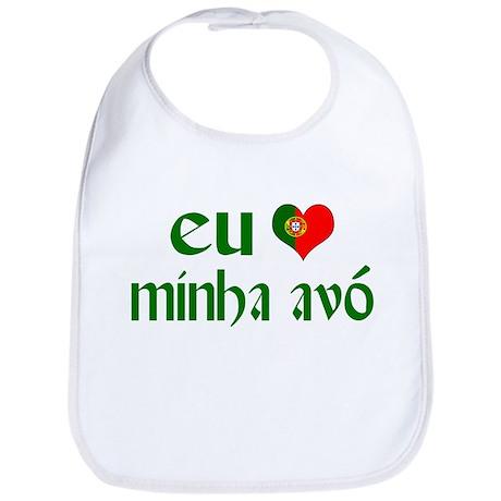 I love my Grandma (Portuguese) Bib