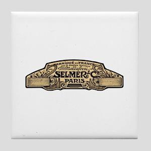 Selmer Tile Coaster