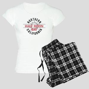 Half Moon Bay California Women's Light Pajamas