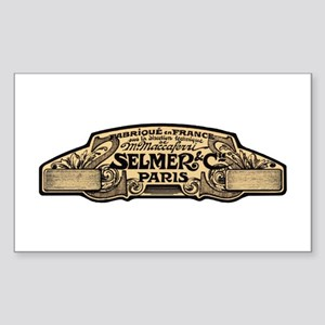 Selmer Rectangle Sticker