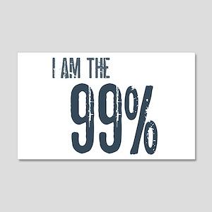 I Am The 99% 22x14 Wall Peel