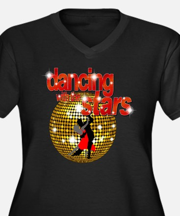 Dancing with the Stars Disco Women's Plus Size V-N