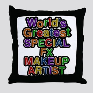 Worlds Greatest SPECIAL FX MAKEUP ARTIST Throw Pil