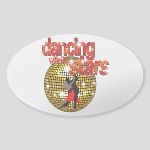 Dancing with the Stars Disco Sticker (Oval)