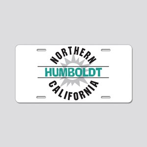 Humboldt California Aluminum License Plate