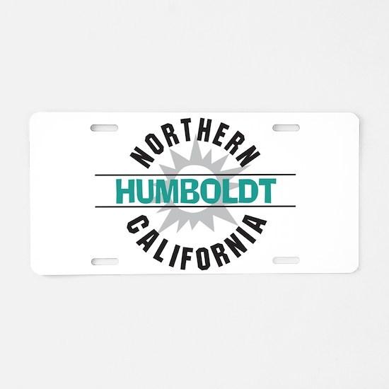 Humboldt California Aluminum License Plate