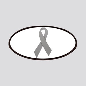 Gray Ribbon Patches