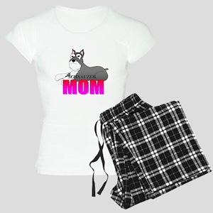 Schnauzer Mom Women's Light Pajamas